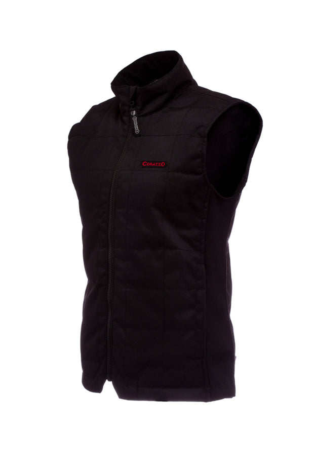 Corazzo Design Cordura Motorcycle Vest in Black online at Moto Est. Australia 2