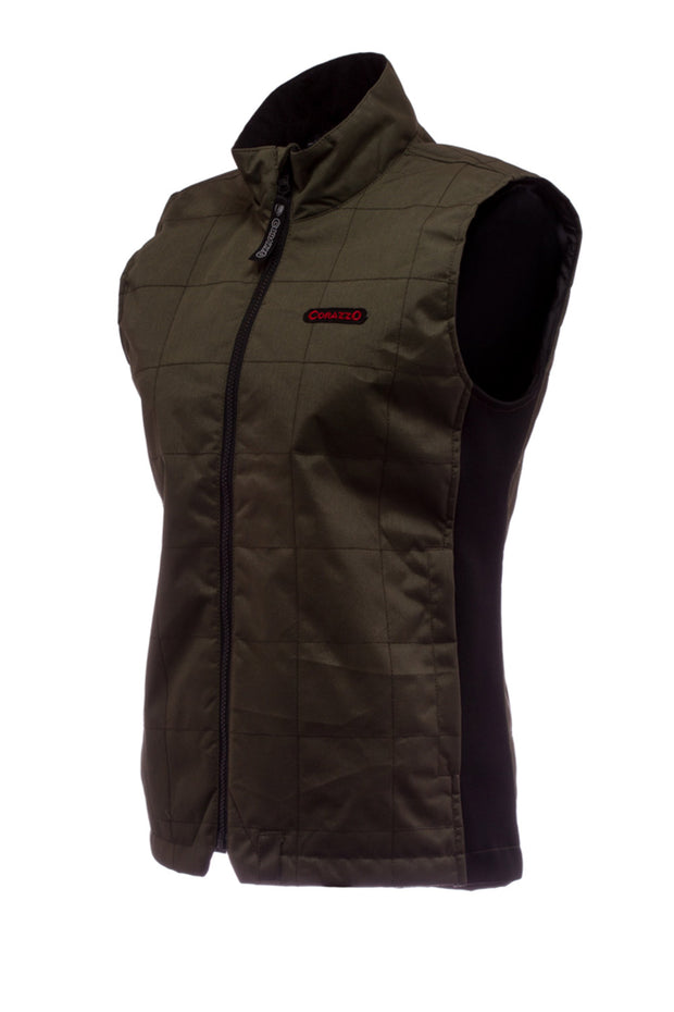 Buy the corazzo cordura vest olive online at Moto Est. Australia 3