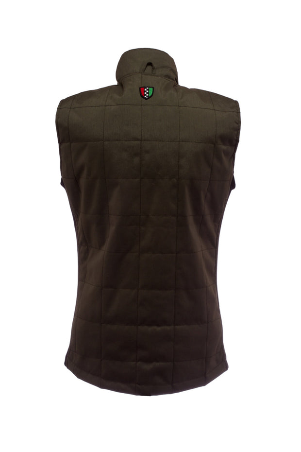 Buy the corazzo cordura vest olive online at Moto Est. Australia