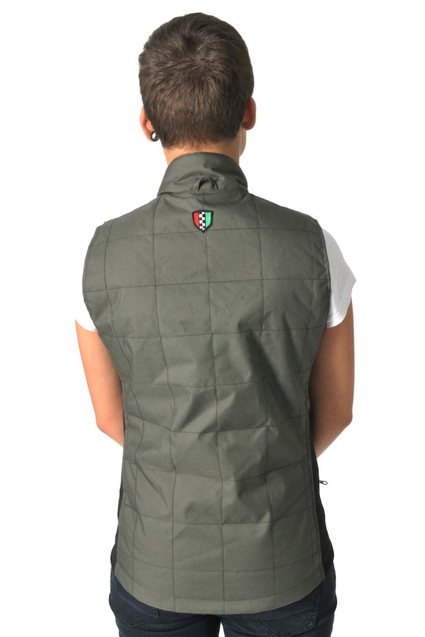 Buy the corazzo cordura vest olive online at Moto Est. Australia 4