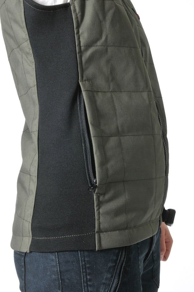 Buy the corazzo cordura vest olive online at Moto Est. Australia 5