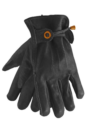 Cordero Leather Motorcycle Gloves | Black