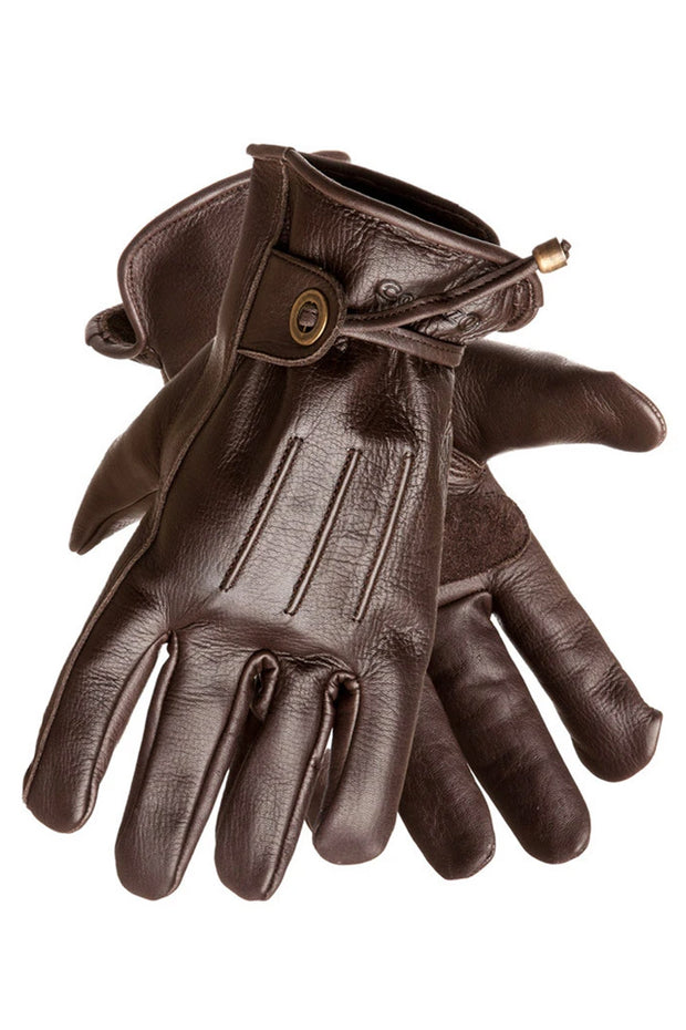 Corazzo Design Cordero Leather Motorcycle Gloves in Brown online at Moto Est. Australia