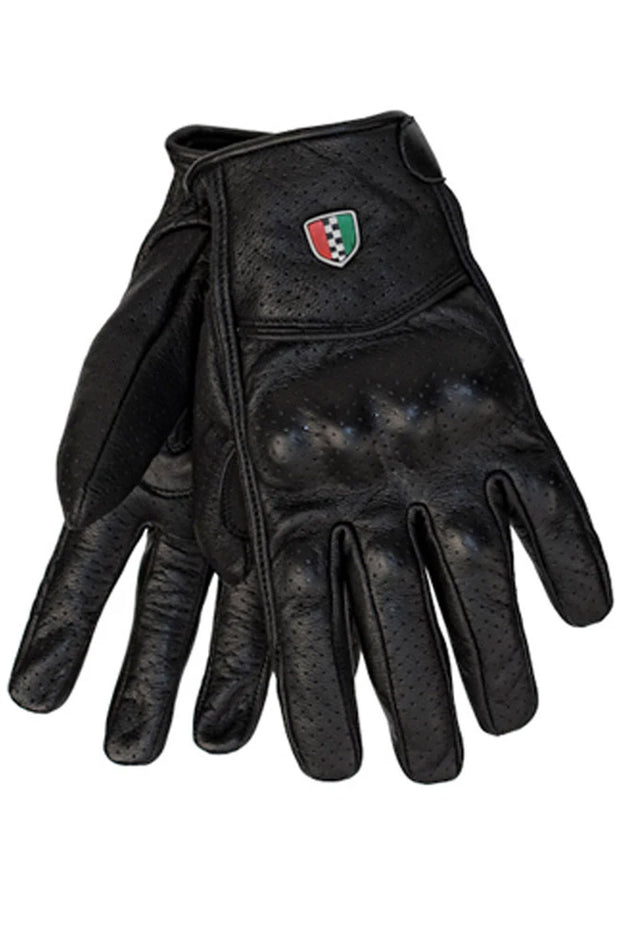 Corazzo Design Enzo Leather Motorcycle Gloves online at Moto Est. Australia