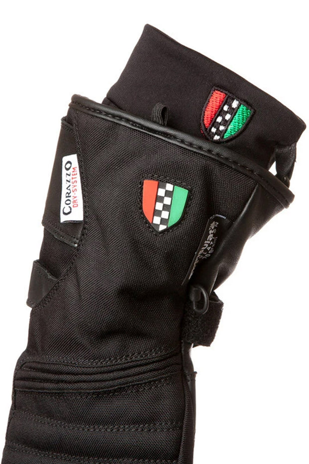 Buy the inverno glove black online at Moto Est. Australia 3