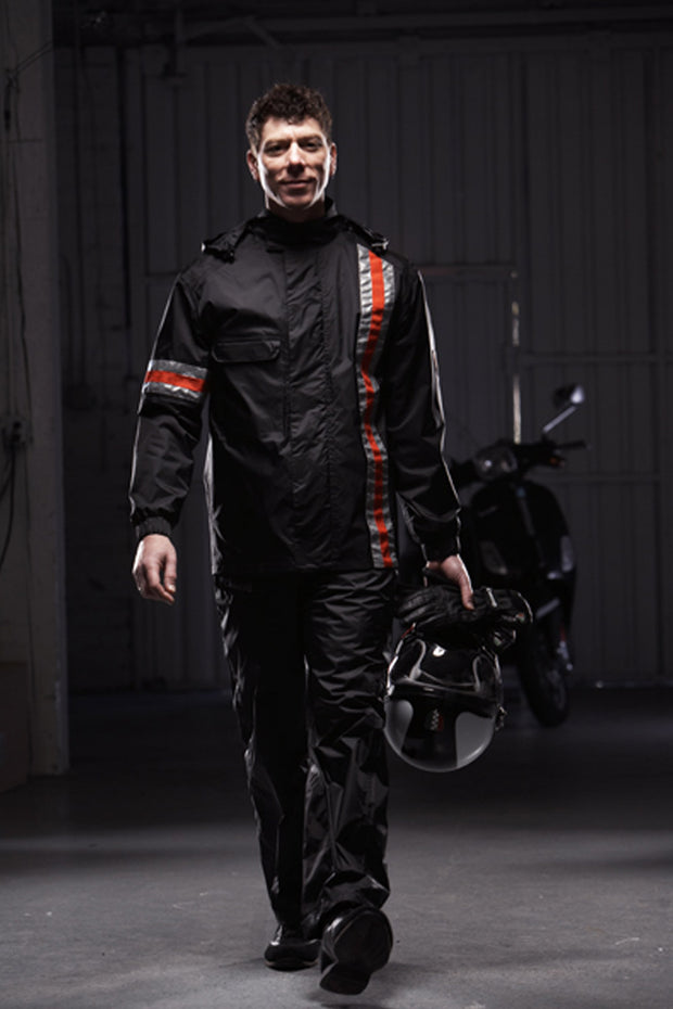 Buy the portland rain suit online at Moto Est. Australia 3