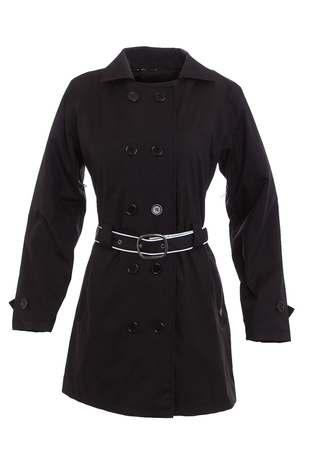 Corazzo Design Turiste Trenchcoat Women's Vegan Motorcycle Jacket online at Moto Est. Australia
