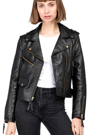 Buy the burning heart leather jacket online at Moto Est. Australia