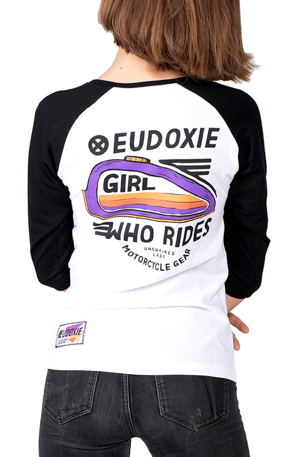 Eudoxie Julia Women's Baseball Tee online at Moto Est. Australia