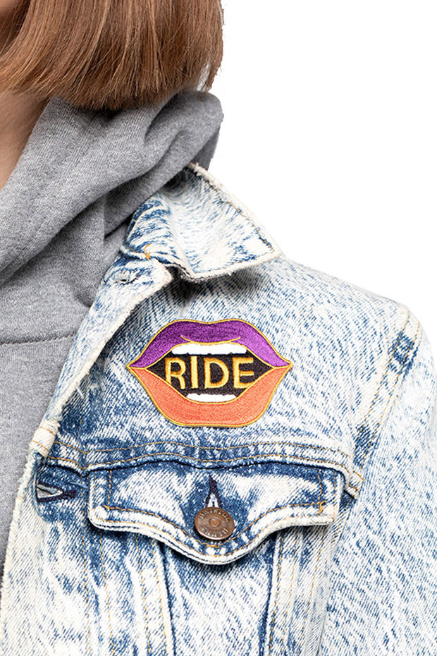Buy the ride patch online at Moto Est. Australia
