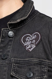 Buy the ride like a girl patch online at Moto Est. Australia