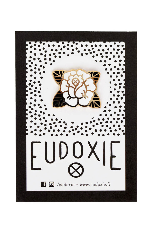 Eudoxie Rose Pin online at Moto Est. Australia