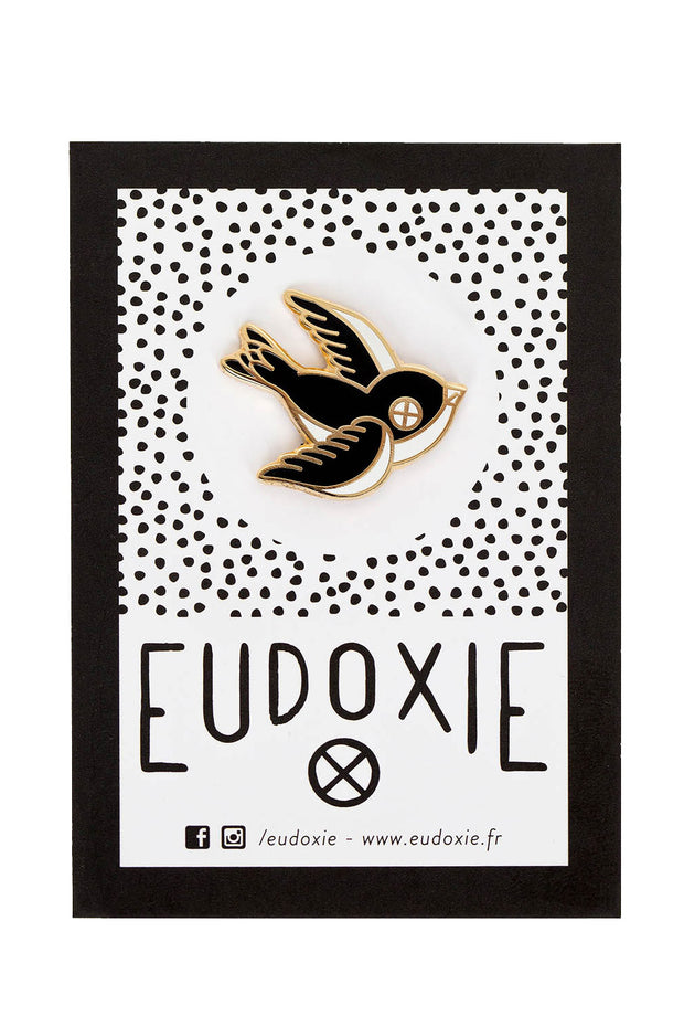 Eudoxie Swallow Pin online at Moto Est. Australia