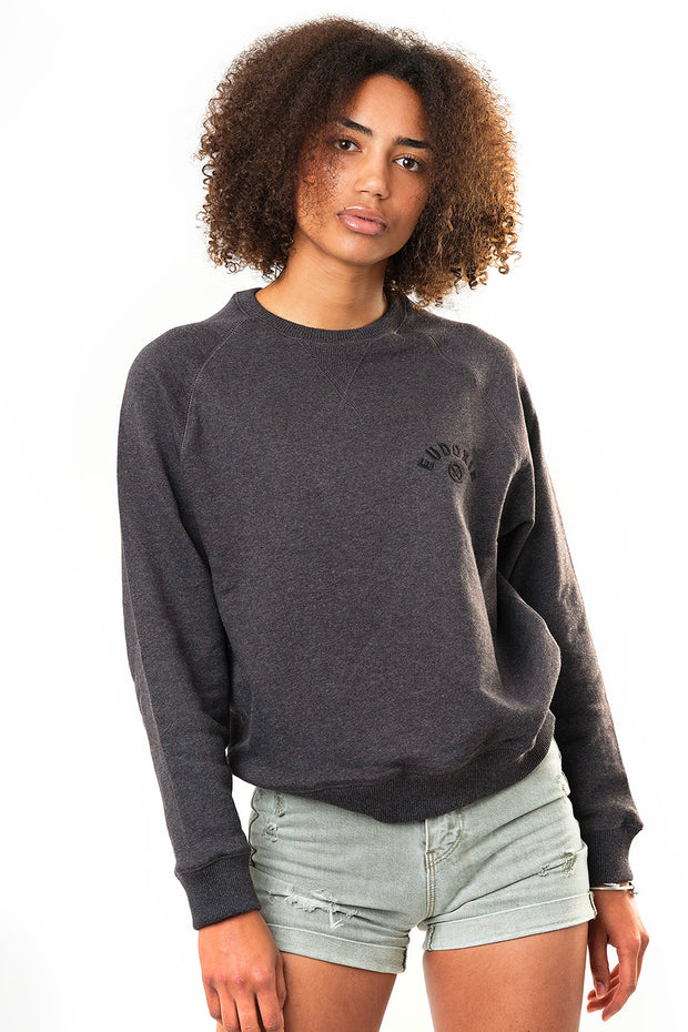 Eudoxie  Bonnie Embroidered Women's Sweatshirt moto est