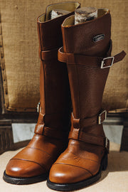 Buy the gasolina autobahn boots honey brown online at Moto Est. Australia 6