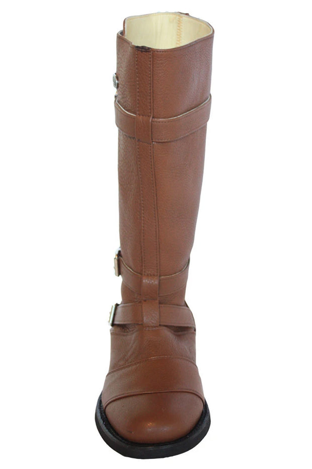 Buy the gasolina autobahn boots honey brown online at Moto Est. Australia 3