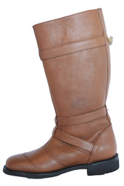Buy the gasolina autobahn boots honey brown online at Moto Est. Australia 4