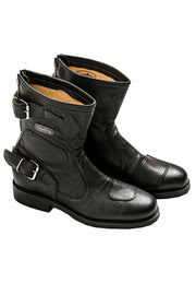 Gasolina Shortcut Women's Leather Motorcycle Boots online at Moto Est. Australia