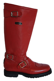 Buy the gasolina ton up boots red online at Moto Est. Australia 3
