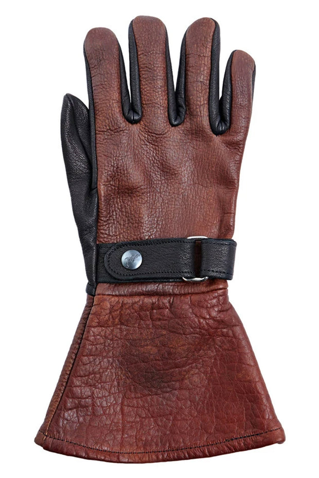 Grifter Company Gauntlet Winter Lined Motorcycle Gloves online at Moto Est. Australia