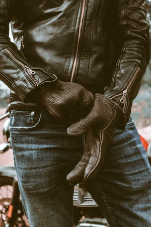 Scoundrel Motorcycle Gloves | Blackout