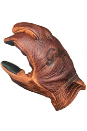 Buy the grifter scoundrel touchscreen motorcycle gloves brown online at Moto Est. Australia 6