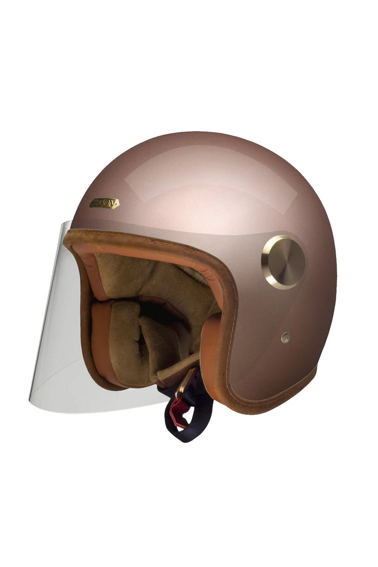 HEDON Epicurist Motorcycle Helmet in Champagne online at Moto Est. Australia