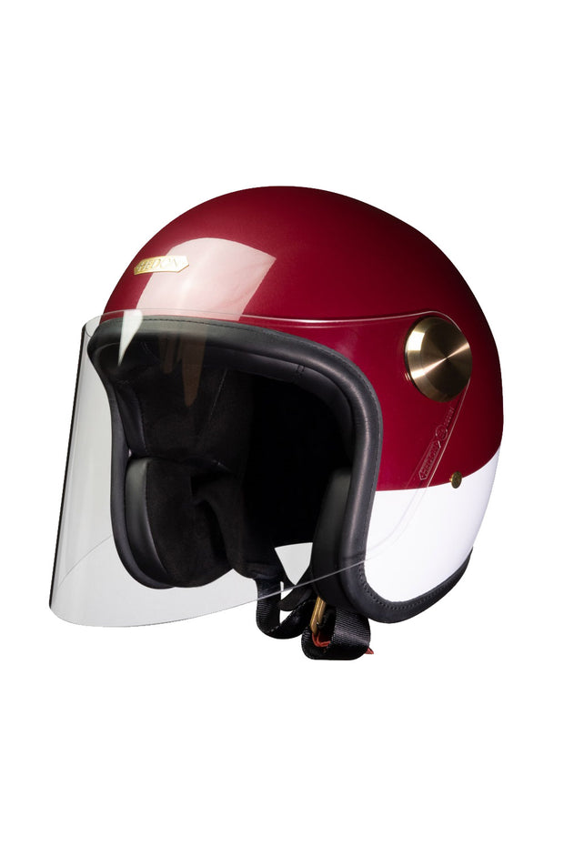 HEDON Epicurist Motorcycle Helmet in Crimson Tide online at Moto Est. Australia