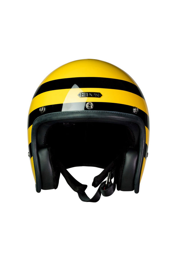 Buy the hedon hedonist motorcycle helmet bumblebee online at Moto Est. Australia 3
