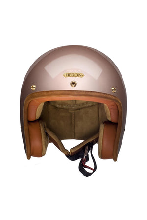 Hedonist Motorcycle Helmet | Champagne