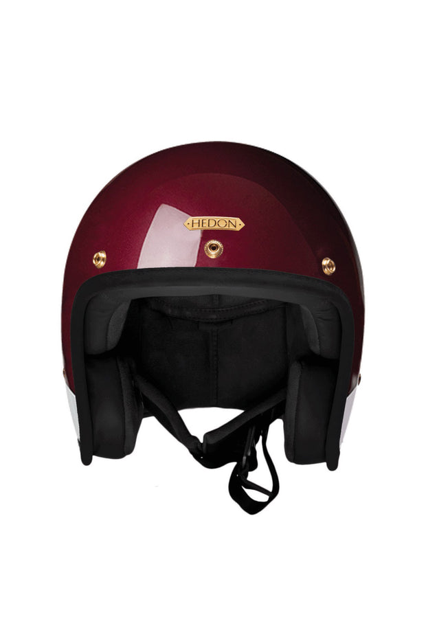 Buy the hedon hedonist motorcycle helmet crimson tide online at Moto Est. Australia 3
