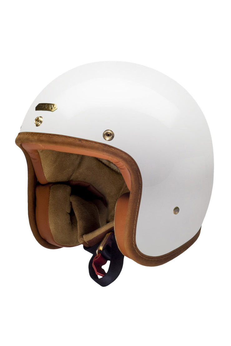 HEDON Hedonist Motorcycle Helmet in Knight White online at Moto Est. Australia