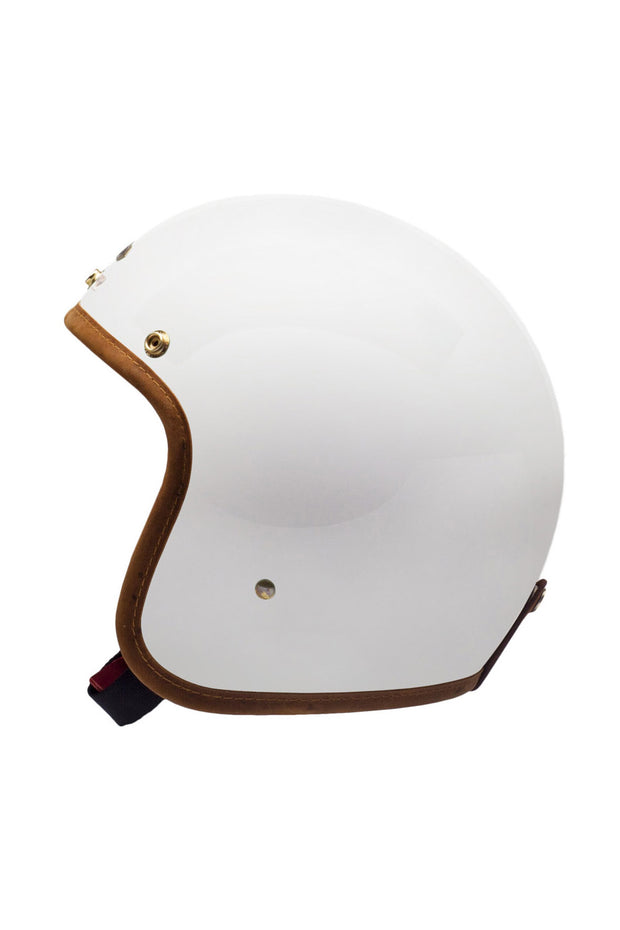 Buy the hedonist helmet knight white online at Moto Est. Australia