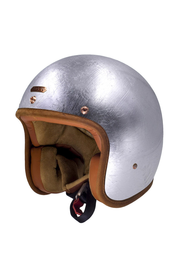HEDON Hedonist Motorcycle Helmet in Silver Lining online at Moto Est. Australia