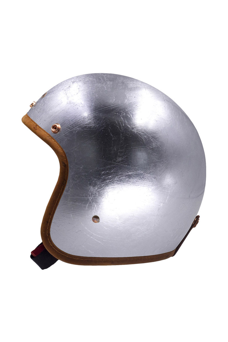 Buy the hedonist helmet silver lining online at Moto Est. Australia