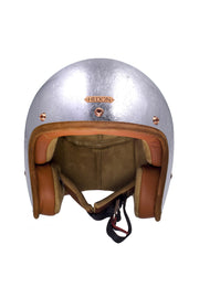 Buy the hedonist helmet silver lining online at Moto Est. Australia 3