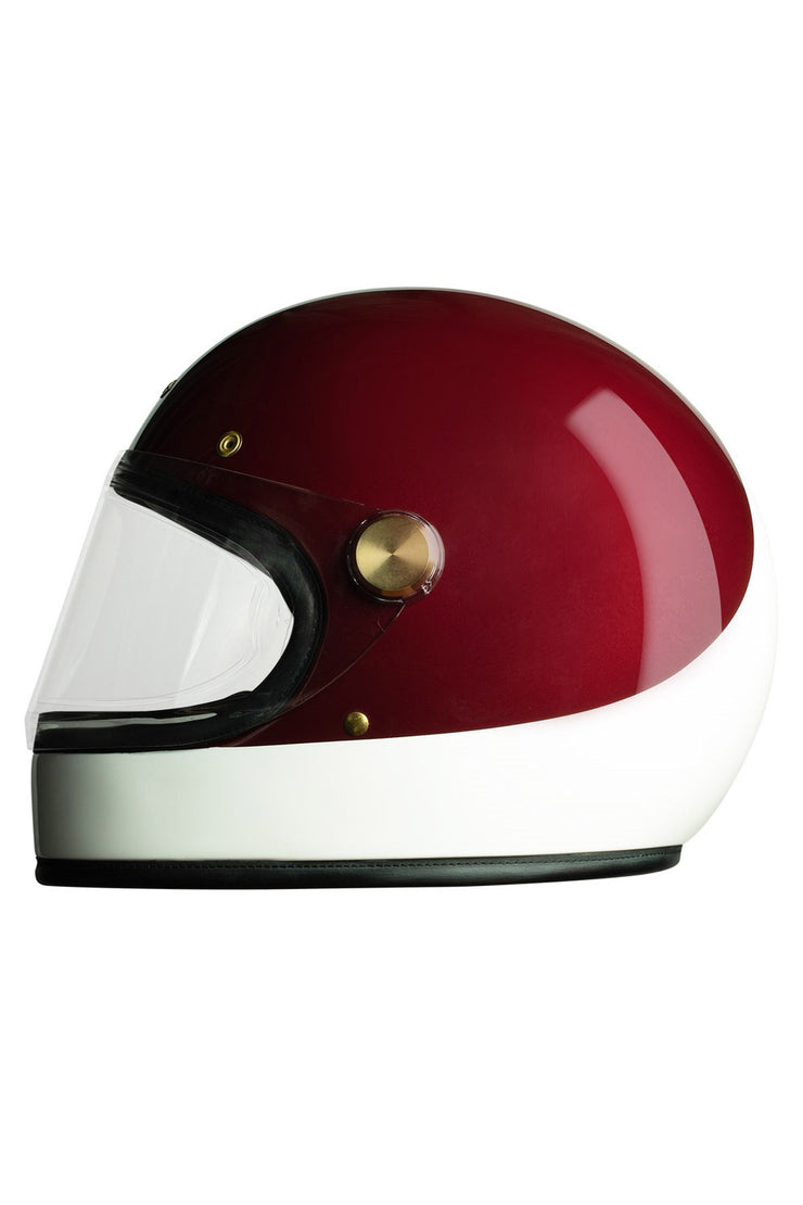 Buy the hedon heroine racer motorcycle helmet crimson tide online at Moto Est. Australia