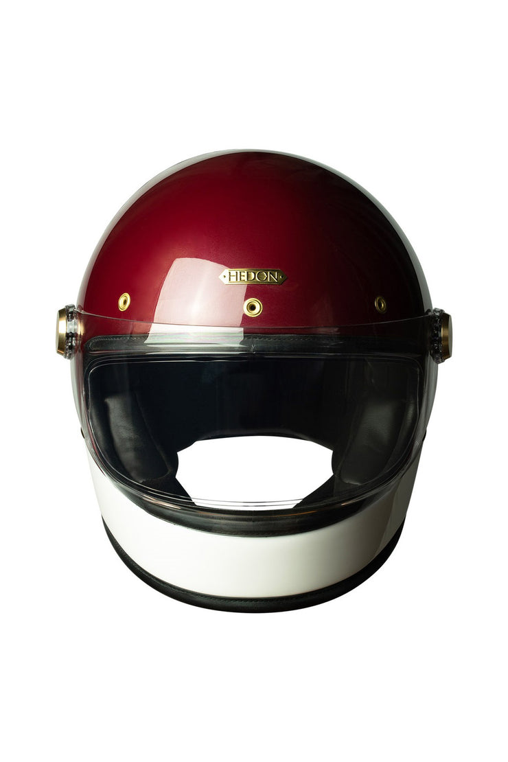 Buy the hedon heroine racer motorcycle helmet crimson tide online at Moto Est. Australia 3