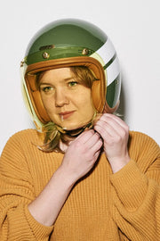Buy the hedonist bubble visor amber online at Moto Est. Australia