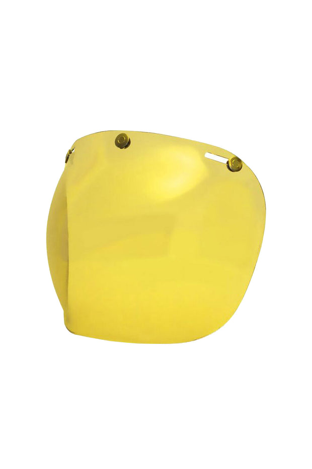 Buy the hedonist bubble visor amber online at Moto Est. Australia 3