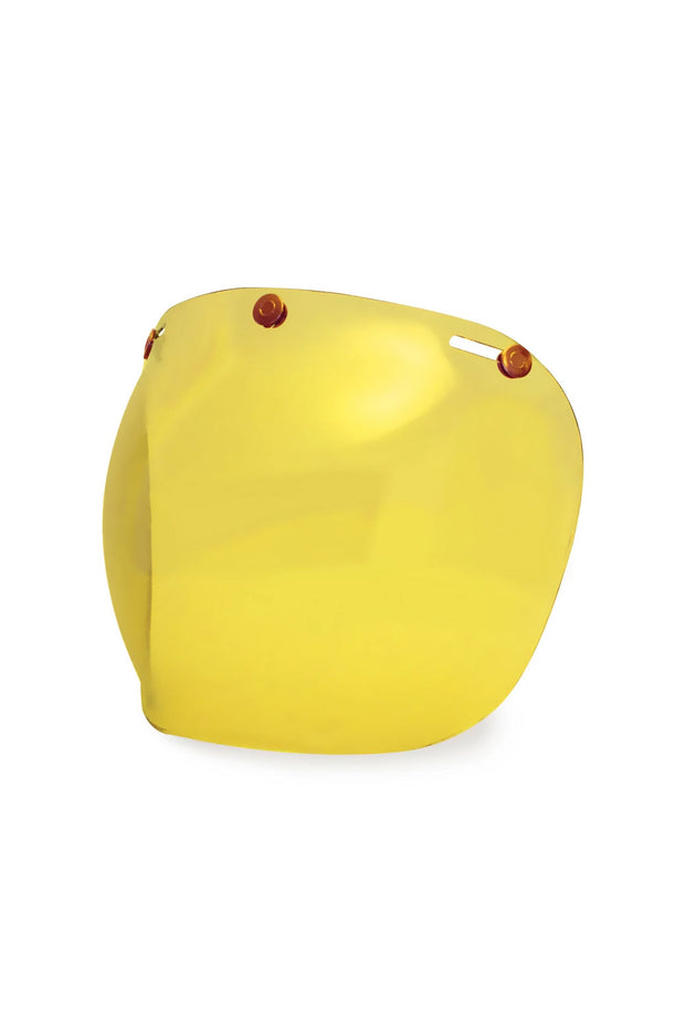 Buy the hedonist bubble visor amber online at Moto Est. Australia 4
