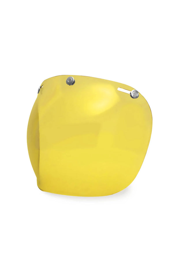 Buy the hedonist bubble visor amber online at Moto Est. Australia 5