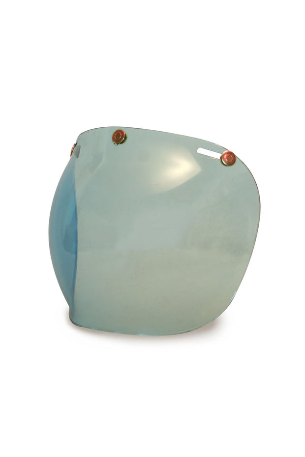Buy the hedonist bubble visor blue online at Moto Est. Australia 3