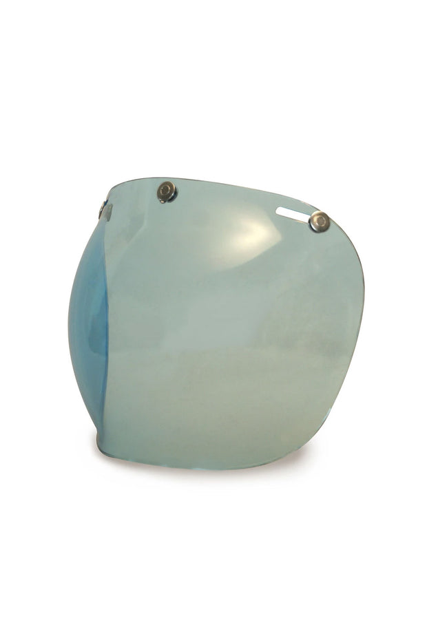 Buy the hedonist bubble visor blue online at Moto Est. Australia 5