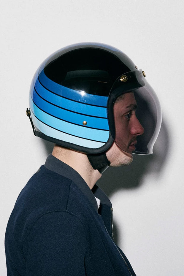 Buy the hedonist bubble visor light smoke online at Moto Est. Australia