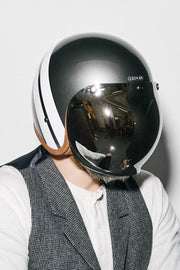 Buy the hedonist bubble visor mirror online at Moto Est. Australia