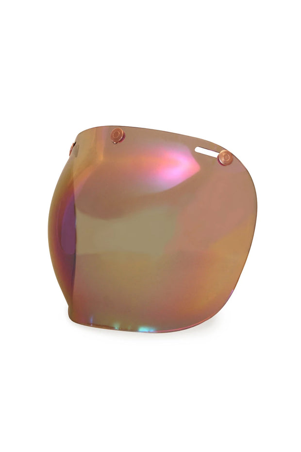 Buy the hedonist bubble visor rainbow online at Moto Est. Australia