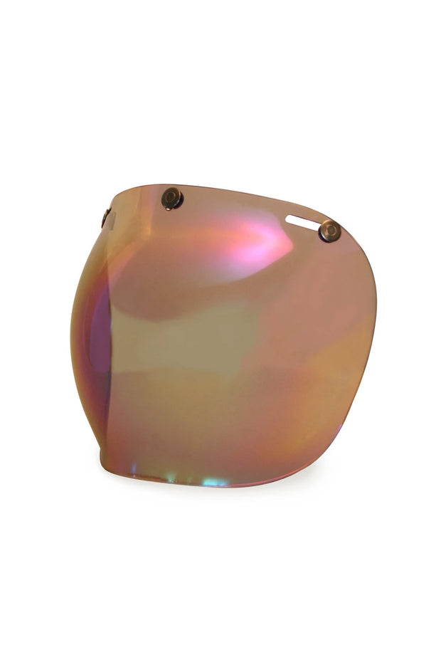Buy the hedonist bubble visor rainbow online at Moto Est. Australia 3