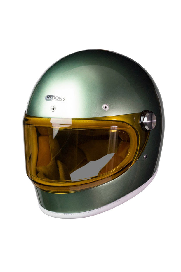 Buy the heroine racer helmet coffee haze visor online at Moto Est. Australia 3