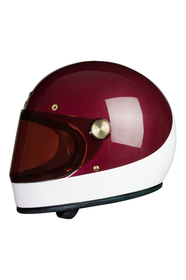 Buy the heroine racer visor red smoke online at Moto Est. Australia 3